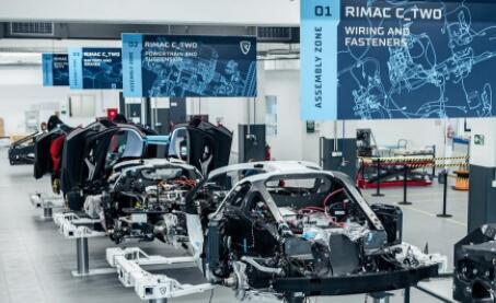 电动超级跑车品牌Rimac将在英国开设一个新的研发中心