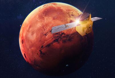 """火星越来越热闹了,阿联酋""""希望""""号火星探测器已成功进入科学轨道"""