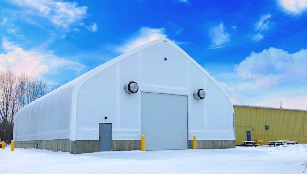 Calhoun Super Structure推出两个系列共19种类型建筑织物
