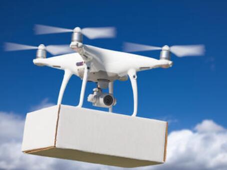 无人机团队使用自适应控制算法协同合作,可用于运送大型包裹