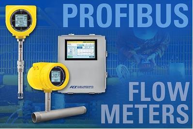 Profibus热流量计支持广泛的过程和工业应用