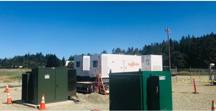 太平洋天然气和电力公司计划为火灾季节部署临时柴油发电机