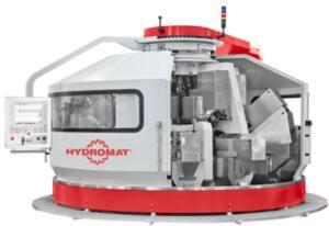 Hydromat旋转输送机可切割复杂的零件,最多可同时使用18个工具