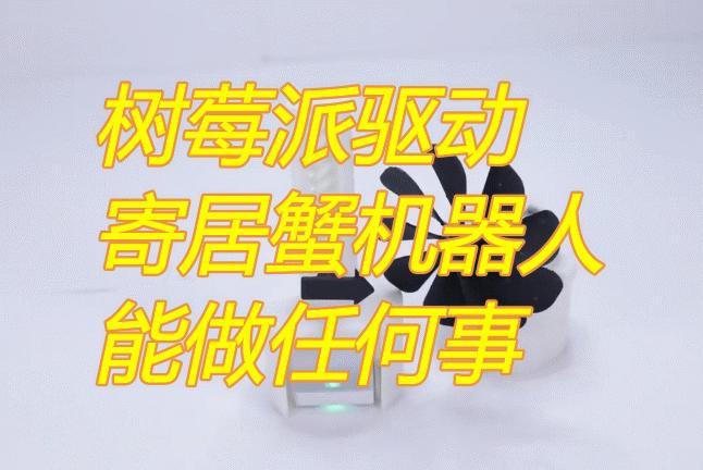 受寄居蟹启发,MIT研发出换壳机器人可用树莓派控制,能做任何事