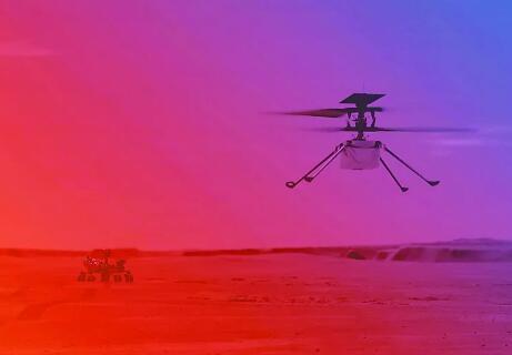"""""""机智""""号无人机即将在火星起飞,火星上飞无人直升机难度有多大?"""