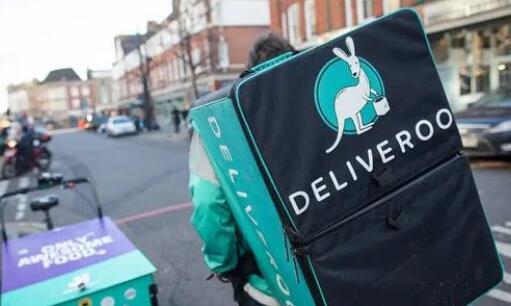英国外卖平台Deliveroo的骑手因不满工资举行大罢工