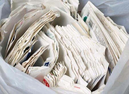 4月8日纸厂废纸价格上涨,最高上调60元/吨
