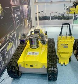 """中国首台煤矿危险气体巡检机器人""""上岗"""" 助力煤矿安全"""