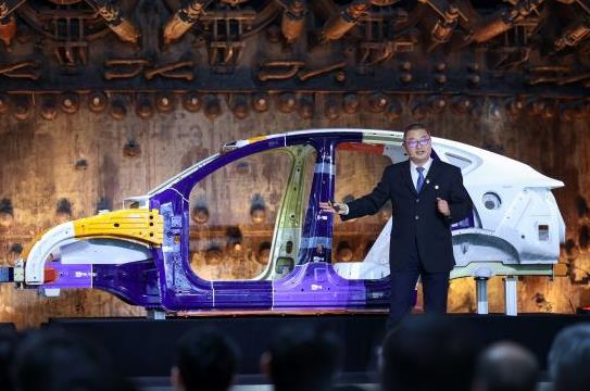 宝钢推出新一代超轻型高安全纯电动白车身BCB EV