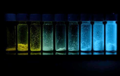 研究人员开发出了颜色可以很容易调节的荧光聚合物