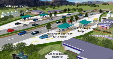 太阳能为新型绿色氢燃料技术提供动力 助力实现碳中和