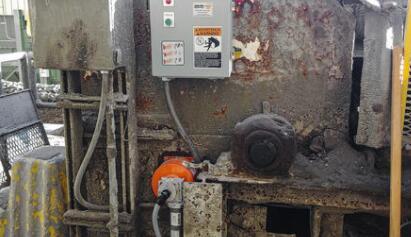配备自动张力系统的传送带清洁器减少了维护