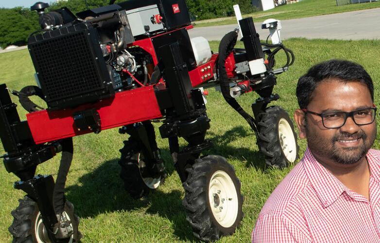 使用空中机器人给地面无人驾驶车辆加油,提高UGV的效率和精度
