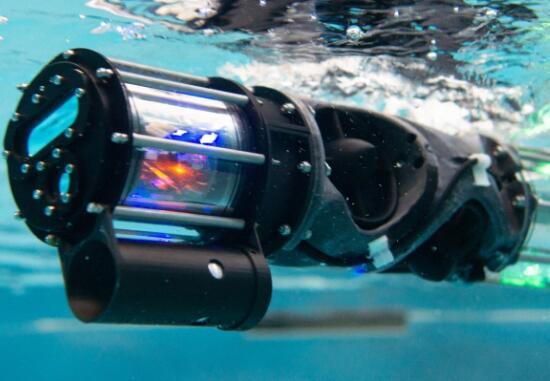 可以游泳的蛇形机器人,用于检测船舶损坏及水下管道是否堵塞