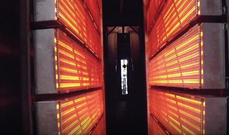 正确使用和测试红外线技术助力更好的完成工业过程加热过程