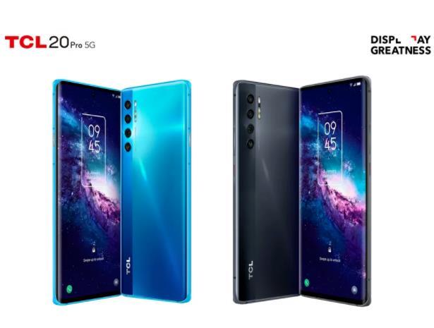 TCL 20 Pro 5G智能手机发布!为消费者提供全时沉浸式的视觉体验