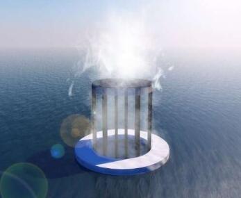 利用太阳能处理海水,一吨原水可供四口之家一天饮用