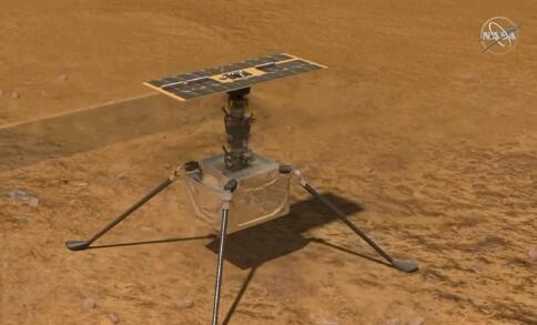 机智号火星首飞成功,人类历史上划时代的39.1秒!