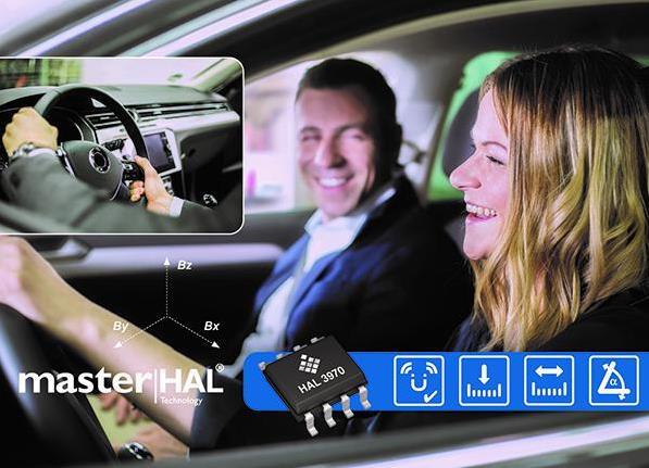 TDK发布新抗杂散场3D HAL位置传感器,适用于汽车和工业应用