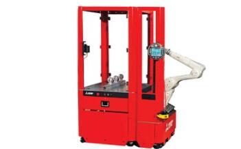 三菱自动化机器人单元简化了批量零件的装卸和码垛