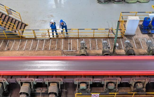 马钢成功实现自主生产重型H型钢极限规格 填补国内市场空白