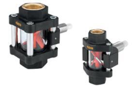 Elesa推出高质量的可视流量指示器:在粘度低于30cSt的双向液体中也能正常测量