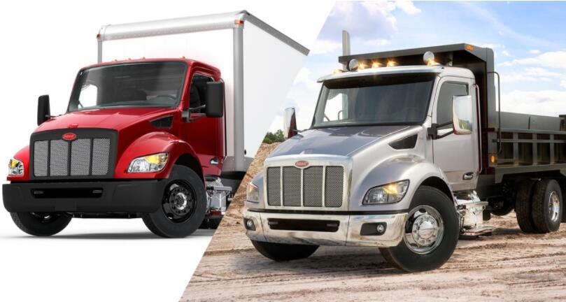 彼得比尔特推出四款中型卡车以及新型变速箱 可实现定制车身无缝集成