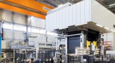 AP&T的高强度铝热成型可将零件重量减少40%