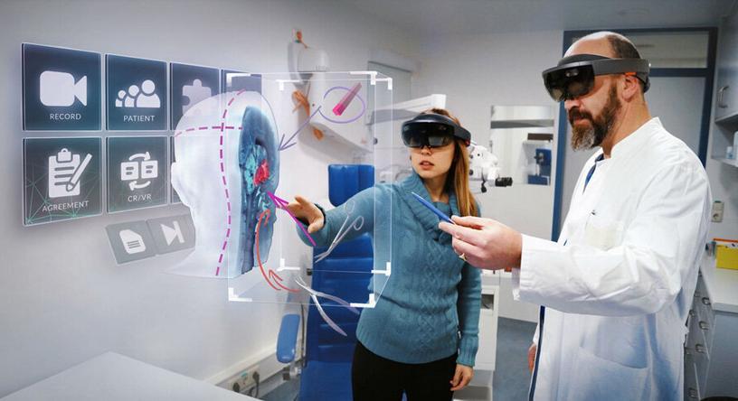 医疗技术和医疗环境迫使需要采用增强现实技术