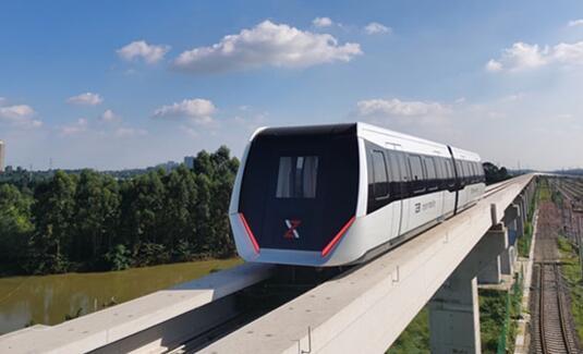 全球首个内嵌式磁浮交通系统亮相成都 时速可达160km/h并可节约30%运营成本