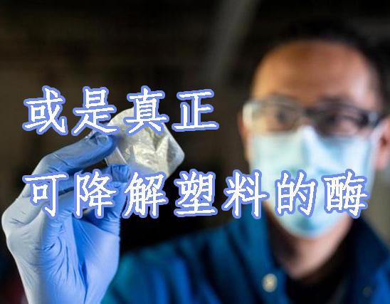 或是真正可降解塑料的酶,新型塑料只需一周时间可被完全降解