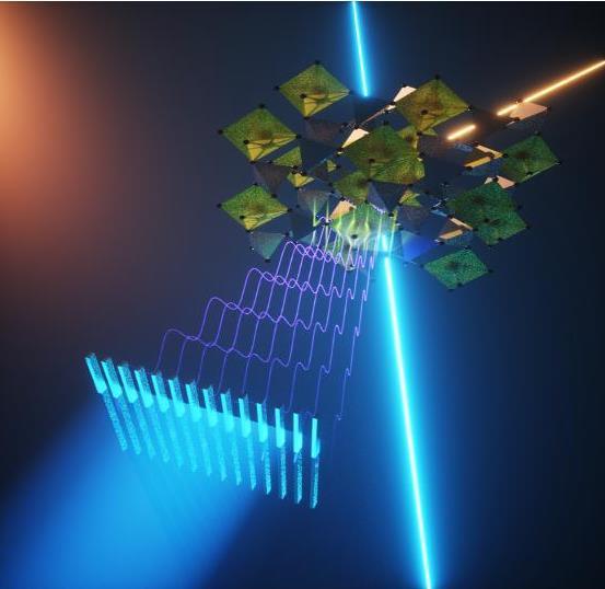 研究人员首次演示硬X射线瞬态光栅光谱学 实现纳米尺度的传输