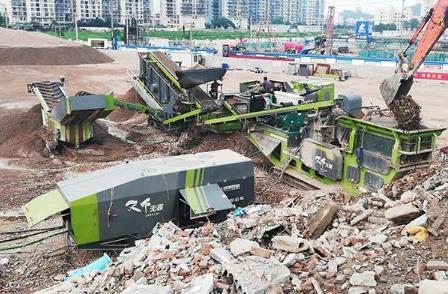 """建筑垃圾市场潜力巨大 行业步入""""提质""""时代"""