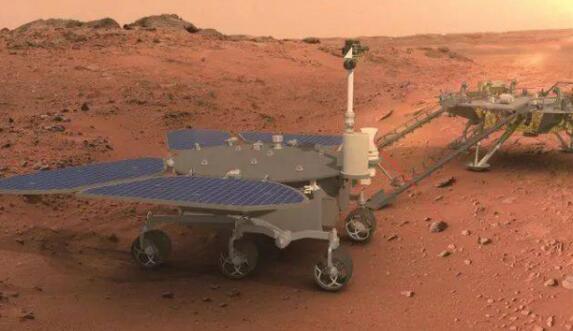 """我国首辆火星车正式命名""""祝融"""" 寓意点燃我国星际探测的火种"""
