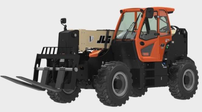 JLG推出2733大容量伸缩臂叉装机,可以装卸卡车和拖车