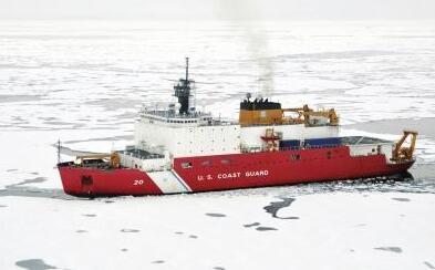 俄罗斯和挪威研究人员正研究在寒冷天气下水汽对船只行进的影响因素