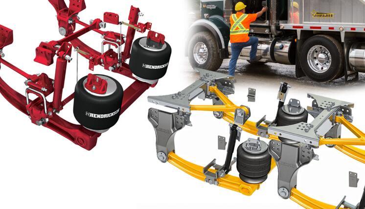 卡车悬架有多重要?决定了卡车司机整个工作期间的舒适度