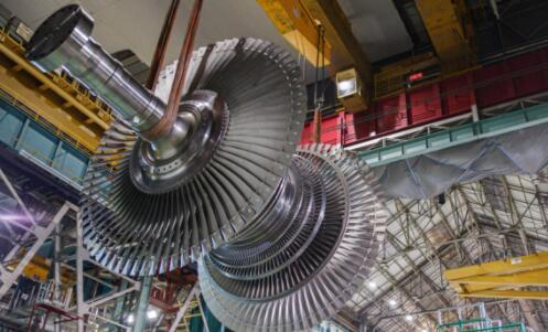 最强大的核蒸汽轮机来了!配备有史以来最大的涡轮叶片