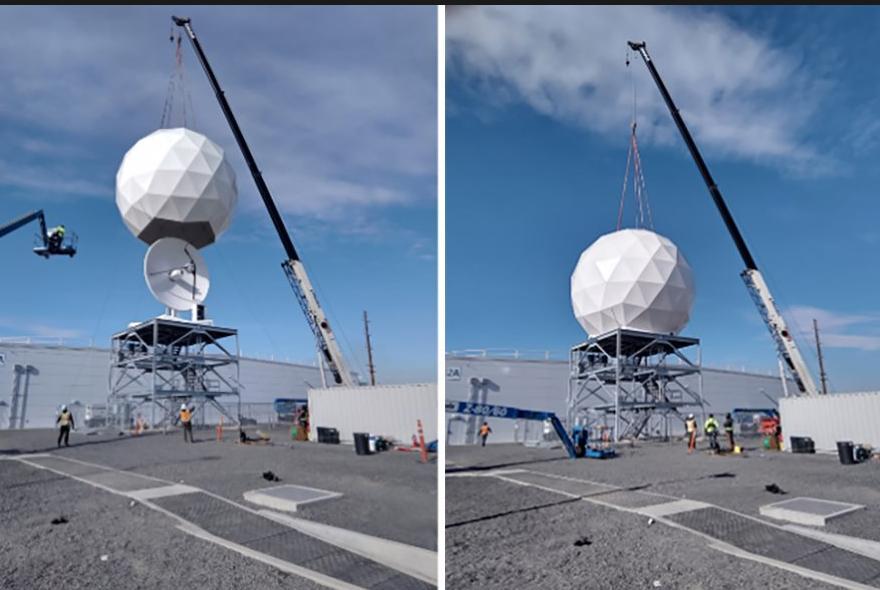 SES公司将在微软数据中心站点上共用四个卫星地面站