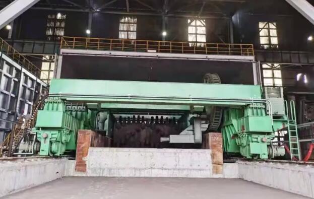 湛江三高炉系统环保BOO项目炼钢渣处理工程热负荷试车成功