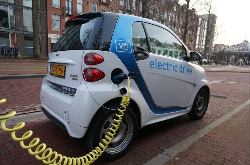 电动汽车的牵引电池越老,它造成的危险就越低