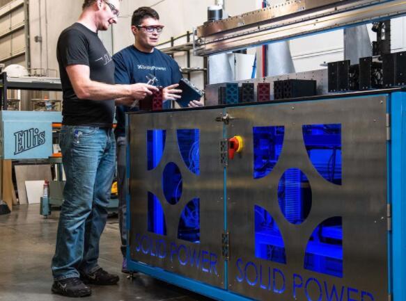 宝马和福特扩大固态电池投资 为Solid Power增资1.3亿美元