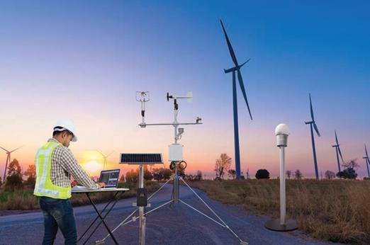 如何为可再能源发电预测天气变化?