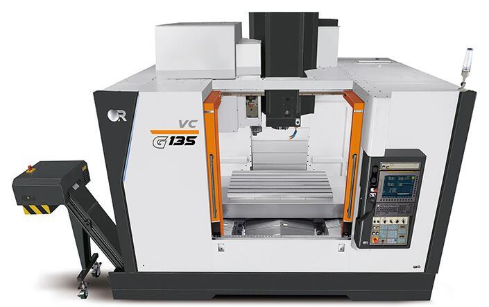 Victor推出新型G 135重型立式加工中心,最大可容纳2200kg的零件