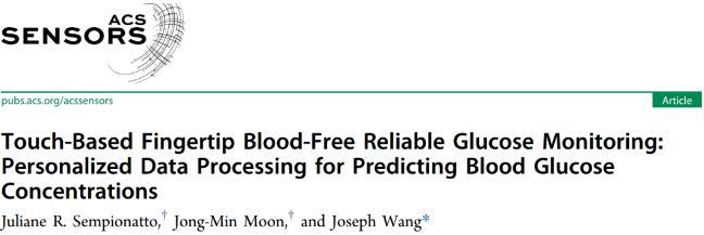 加州大学开发出一种新型无创血糖检测技术:准确率高达95%
