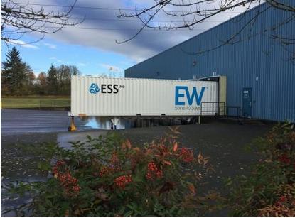 液流电池制造商ESS公司通过SPAC合并在纳斯达克上市