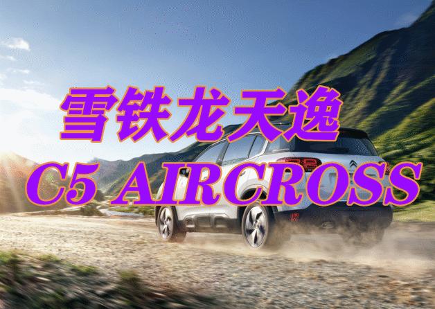 雪铁龙天逸 C5 AIRCROSS 动力十足