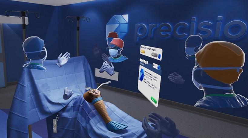 模拟PrecisionOS公司发布了VR中第一个全交互机器人平台