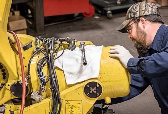 翻新机器人是实现自动化的具有成本效益的方法