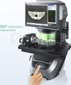 Keyence推出新型IM-8000尺寸测量系统:可对零件进行360度测量